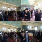 برگزاری مراسم عزاداری در ظهر روز شهادت حضرت علی (ع) در مسجد جامع کیانشهر